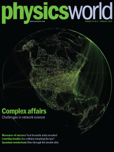 Physics World, February 2010 issue.